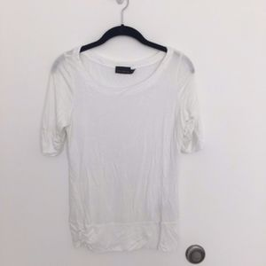 The Limited SZ M white top